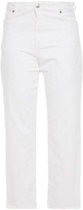 IRO Auxel Cropped High-rise Straight-leg Jeans