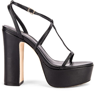 Cult Gaia Angela Heel in Black | FWRD