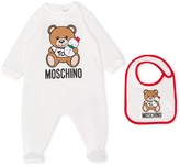 Moschino Kids snowman teddy bear pajamas
