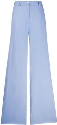 Temperley London Sophia wide leg trousers