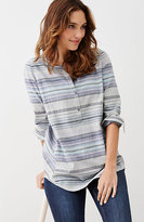 J. Jill Soft Striped Tunic