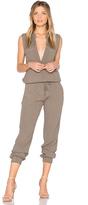 Monrow Sleeveless Jumpsuit