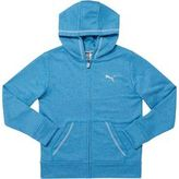 Puma Heathered French Terry Full Zip Hoodie (S-XL)
