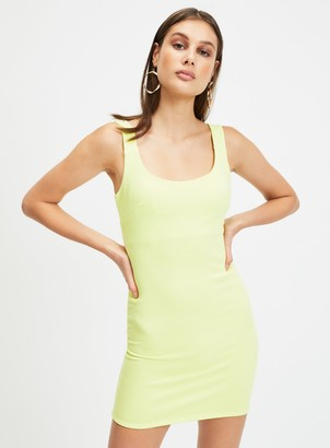 Miss Selfridge Fluro Bodycon Mini Dress