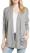 Stateside Women's Fleece Cardigan