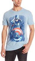 Marvel Men's Civil War Captain America Short Sleeve Graphic T-Shirt