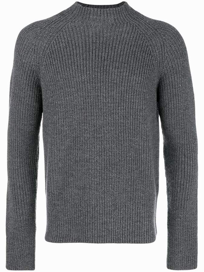 Eleventy ribbed jumper