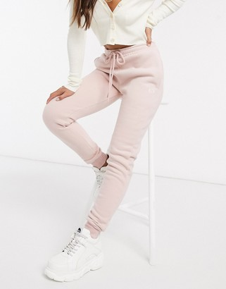 Criminal Damage joggers in pink