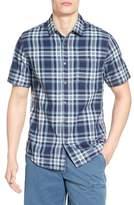 Jeremiah Men's Carr Regular Fit Reversible Plaid Sport Shirt