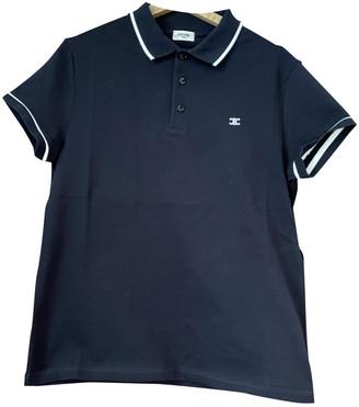 Celine Blue Cotton Polo shirts