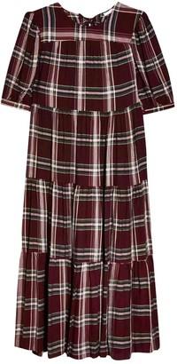 Topshop Tophop Burgundy Dress for Women