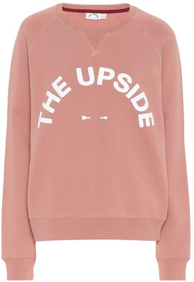 The Upside Bondi logo cotton sweatshirt