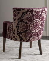 Purple Medallion Chair