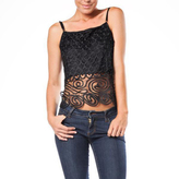 Soulmates C3104 Crochet Cropped Camisole