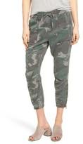 Pam & Gela Women's Camo Crop Pants