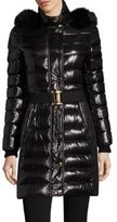 Burberry Abbeydale Fur-Trimmed Puffer Coat