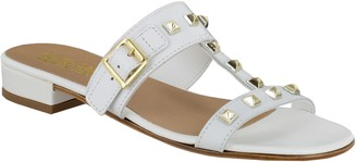 Bella Vita Italy Leather Slide Sandals - Jun-Italy