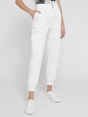 Alice + Olivia Hyde High Waisted Cargo Pant