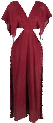CARAVANA Conkal knot-detail dress