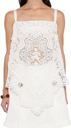 Dolce & Gabbana Lace Patterned Top