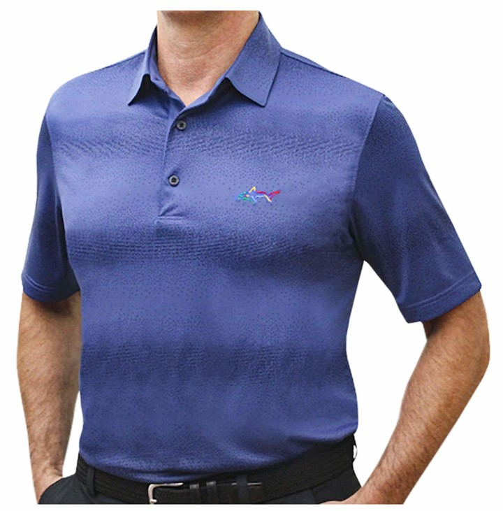 Thumbnail for your product : Greg Norman Men's Short Sleeve Golf Polo (Navy-123 XX-Large)