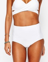 South Beach Mix and Match High Waist Bikini Bottom