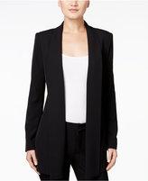 Calvin Klein Open-Front Soft Jacket