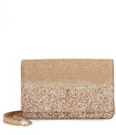 Jimmy Choo Varenne Palace Glitter Leather Clutch