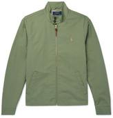 Polo Ralph Lauren Cotton-blend Twill Harrington Jacket