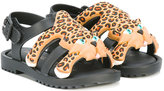 Mini Melissa Flox X Jeremy Scott sandals - kids - rubber - 20