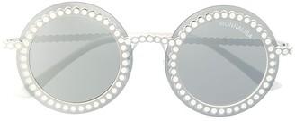 MonnaLisa Round Frame Sunglasses