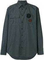 Yang Li cut-out pocket patch shirt