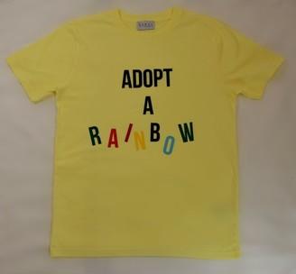 Arbol - Women Adopt A Rainbow Lemon T-Shirt - XS (0) | organic cotton | lemon yellow