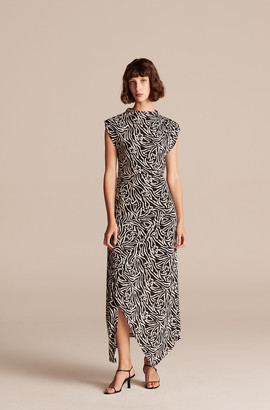 Rebecca Taylor Zebra Lily Jersey Dress