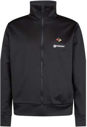 Burberry Logo Zipped Sweatshirt