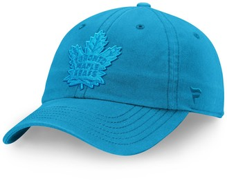 Women's Fanatics Branded Blue Toronto Maple Leafs Color Hue Fundamental Adjustable Hat