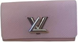 Louis Vuitton Twist Pink Leather Wallets