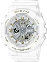 Baby-G Baby G Ba110 Series Watch White