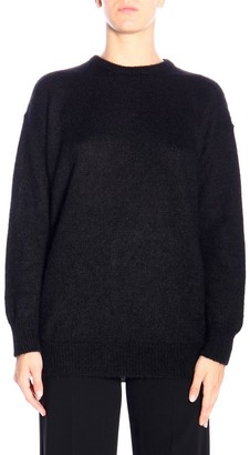 Max Mara Relax Pullover In Mohair Wool