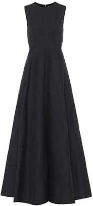 Valentino cotton and silk gown
