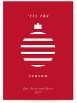 Minted Merry Ornament Holiday Non-Photo Cards