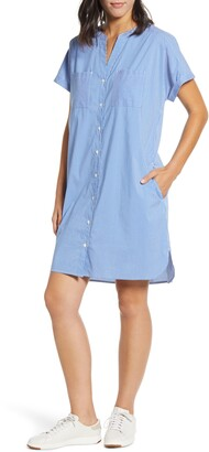 Tommy Bahama Beach You To It Cotton Blend Shirtdress