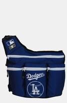 Diaper Dude 'Los Angeles Dodgers' Messenger Diaper Bag
