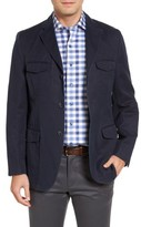 Kroon Men's Hozier Classic Fit Cotton & Linen Blazer