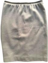 Marc Cain Grey Wool Skirt for Women