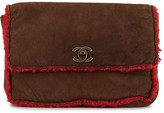 Chanel Pre Owned 1998 CC turn-lock flap clutch