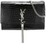 Saint Laurent medium 'Kate Monogram' tassel satchel - women - Calf Leather - One Size