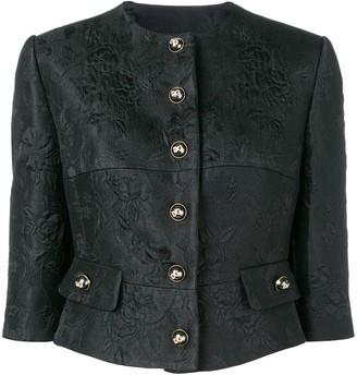 Dolce & Gabbana cropped button jacket