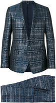 Dolce & Gabbana woven metallic suit - men - Polyester/Acetate/Viscose - 48