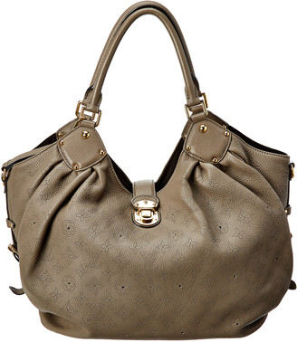Louis Vuitton Taupe Mahina Leather Xl Hobo